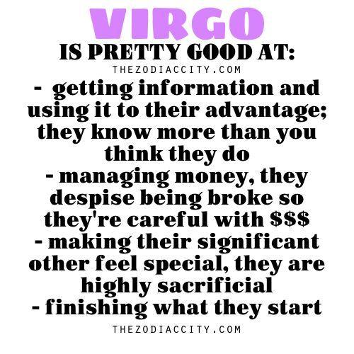 why are virgos so special
