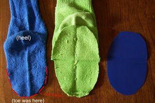 Como hacer títeres con medias