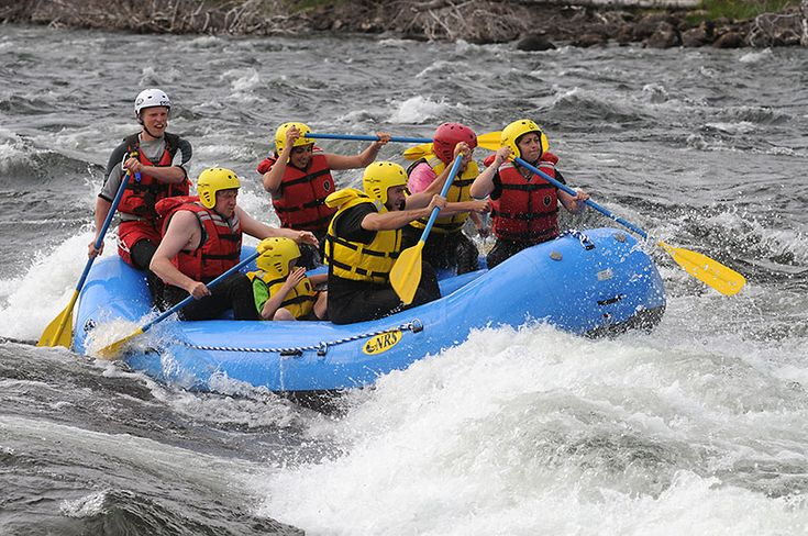 White water Rafting in the Vaal