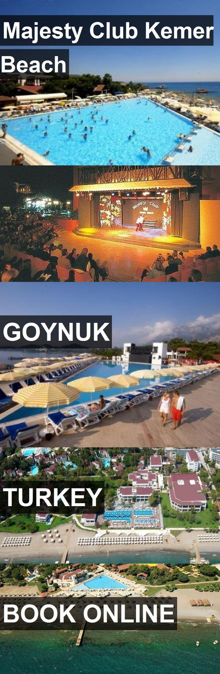 Hotel Majesty Club Kemer Beach in Goynuk, Turkey. For more information, photos, reviews and best prices please follow the link. #Turkey #Goynuk #MajestyClubKemerBeach #hotel #travel #vacation