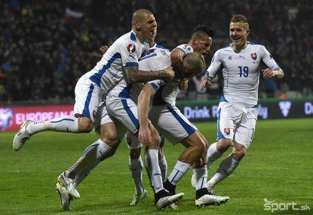 Kvalifikácia: Slovensko - Luxembursko 3:0