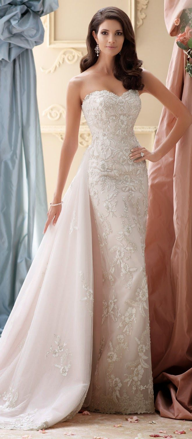 579 best my own say yes to the dress images on pinterest wedding david tutera for mon cheri spring 2015 bridal collection ombrellifo Image collections
