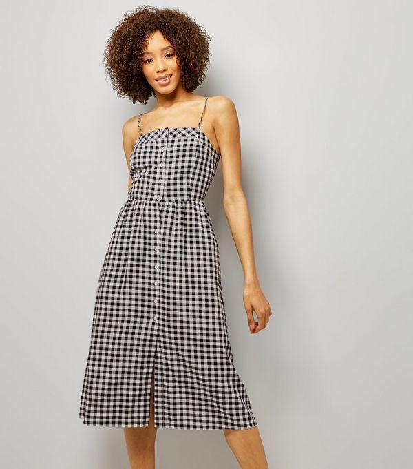 Womens Cupro Strappy Dress New Look WrKKxM5FNq