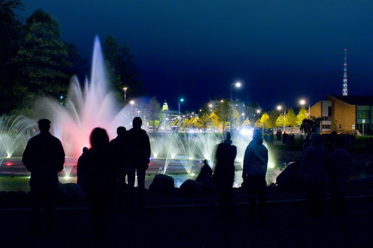 Musical Fountain - Lahti