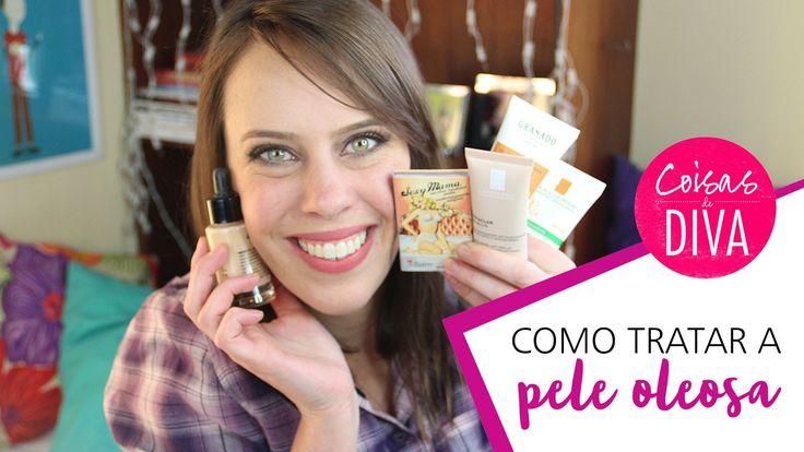 Fique Mais Linda: Como tratar pele oleosa Saiba Mais em http://dicasdemaquiagem.vlog.br/como-tratar-pele-oleosa/