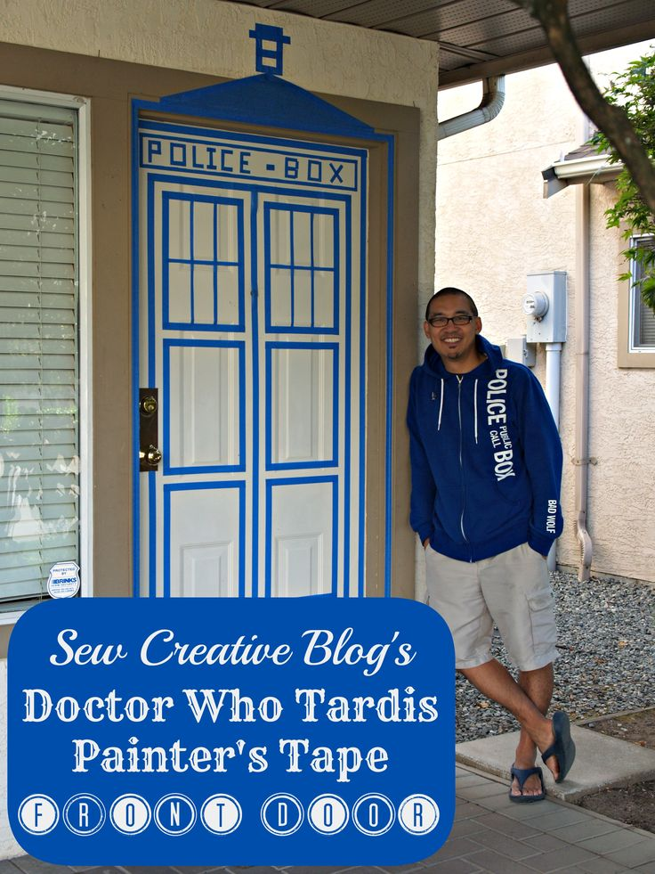 majestic dr who tardis door decal. Doctor Who Painters Tape Tardis Front Door Decor 121 best Bathroom images on Pinterest  who tardis