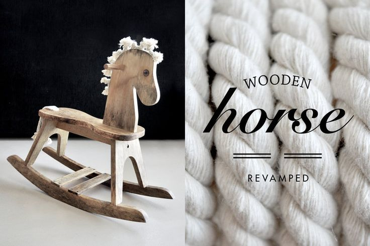 Revamped wooden horse