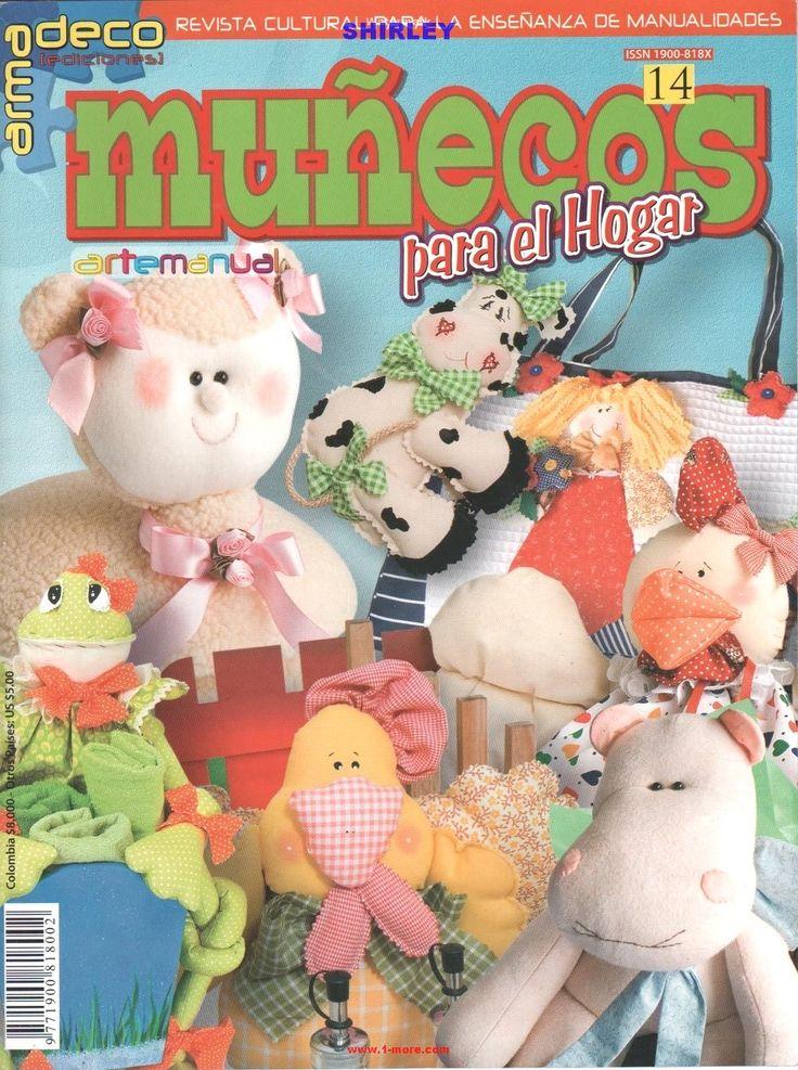 Arte Manual 14 - Munecos para el Hogar - игрушки и тильды с выкройками