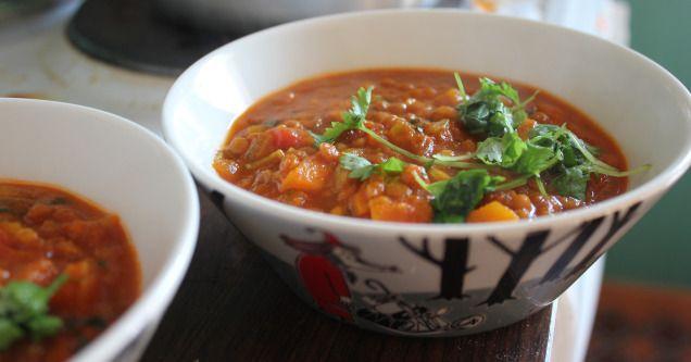 Dal (Indian lentil stew)