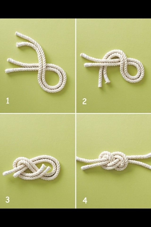 DIY how to - nautical knot, going to try this for a bigger piece