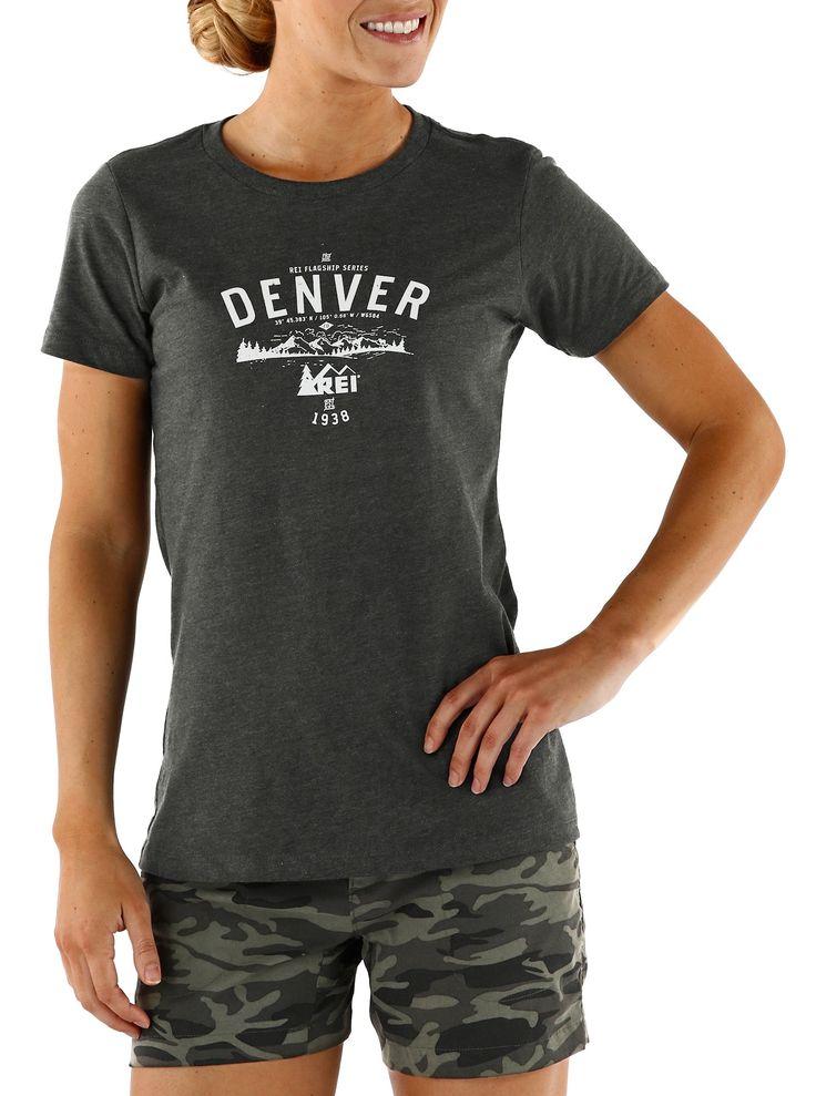 REI Logo T-Shirt - Denver - Women's - REI.com