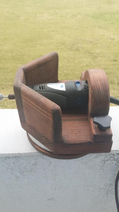 My Homemade Dremel Stand! - Friendly Metal Detecting Forums