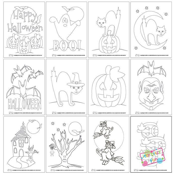 1570 best Holidays-Halloween Printables images on Pinterest - halloween decoration printouts