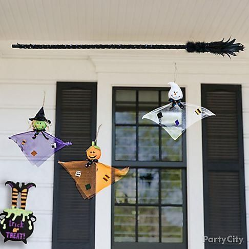 A haunted house isn't complete without some high-flying spirits! Hang up some Small Hanging props along your deck or windows!