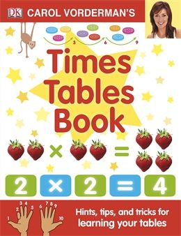 jacket image for Carol Vorderman's Times Tables Book by -  Carol Vorderman