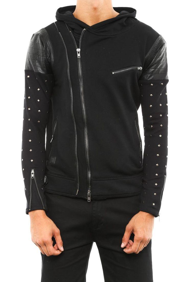 New French streetwear brand, Black Kaviar, push the edges of street gothic.