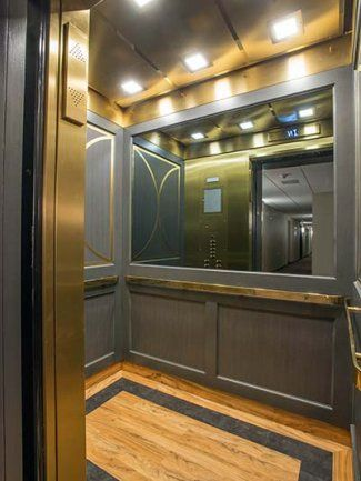 Refurbished Elevator