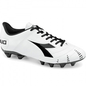 SALE - Diadora Evoluzione R MG 14 Soccer Cleats Mens White - Was $49.99 - SAVE $7.00. BUY Now - ONLY $42.99