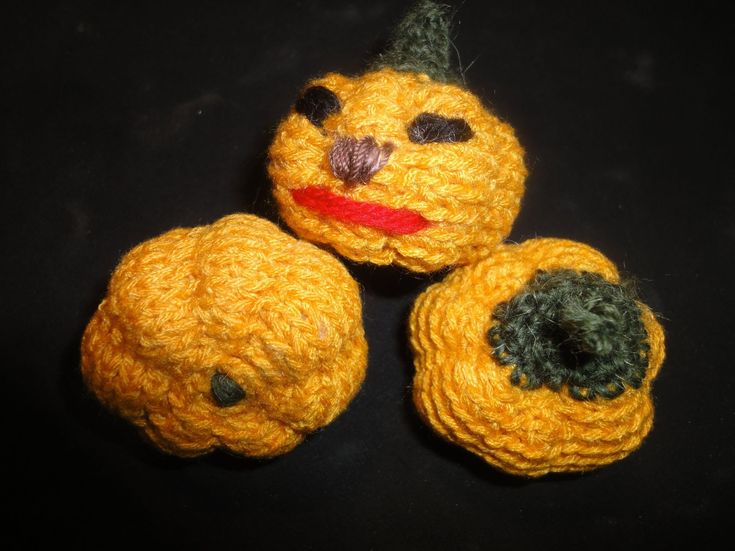 Тыква Хэллоуин Вязание крючком  Pumpkin Halloween Crocheting