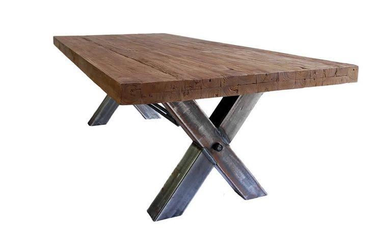 Industriële tafel TEAK