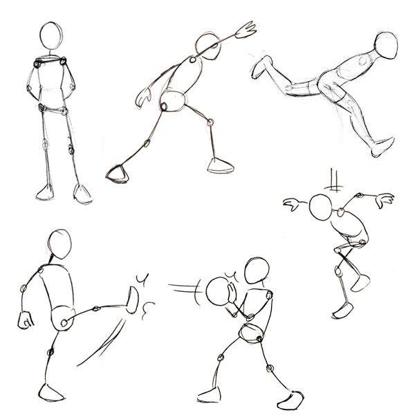 Нарисовать рисунок в движении