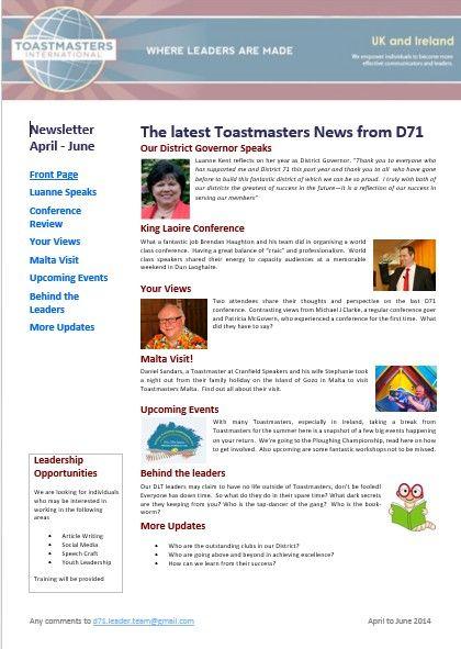 Traveling Toastmaster to Malta