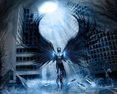 Wallpaper Black Angel