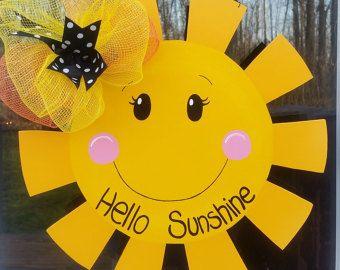 Summer Door Hanger: Cupcake Summer Door by LooLeighsCharm on Etsy