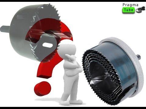 Bricolage : Comment utiliser une scie cloche pour scier des disques de b...