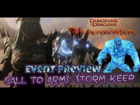 Neverwinter Xbox one Event Preview Call to arms: Storm front