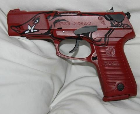 want it! #WPS #arkansas #razorbacks #guns