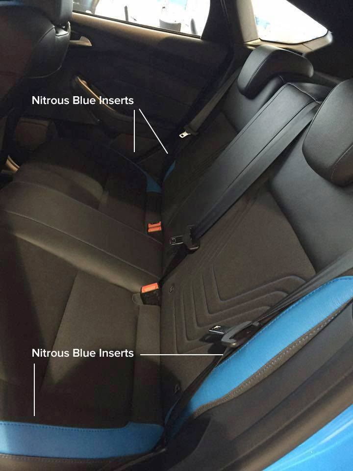 Attractive 2016 Ford Focus RS Seat Options