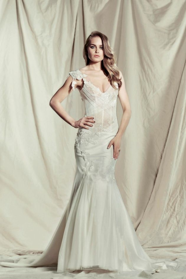 Pallas Couture Destinne 2013 2014 Wedding Dress Collection