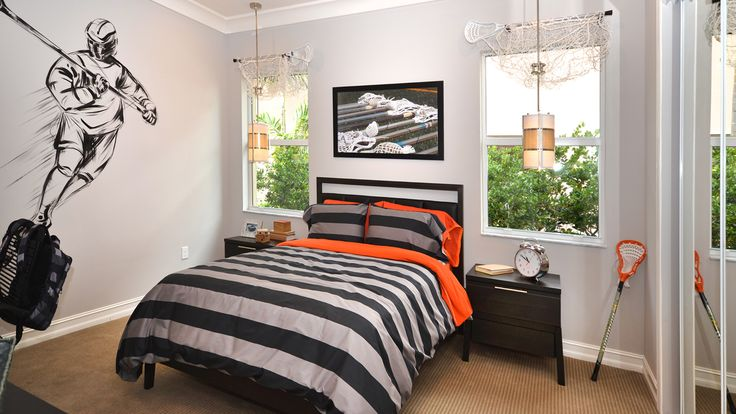 themed bedroom - Lacrosse! The Charleston model # ...