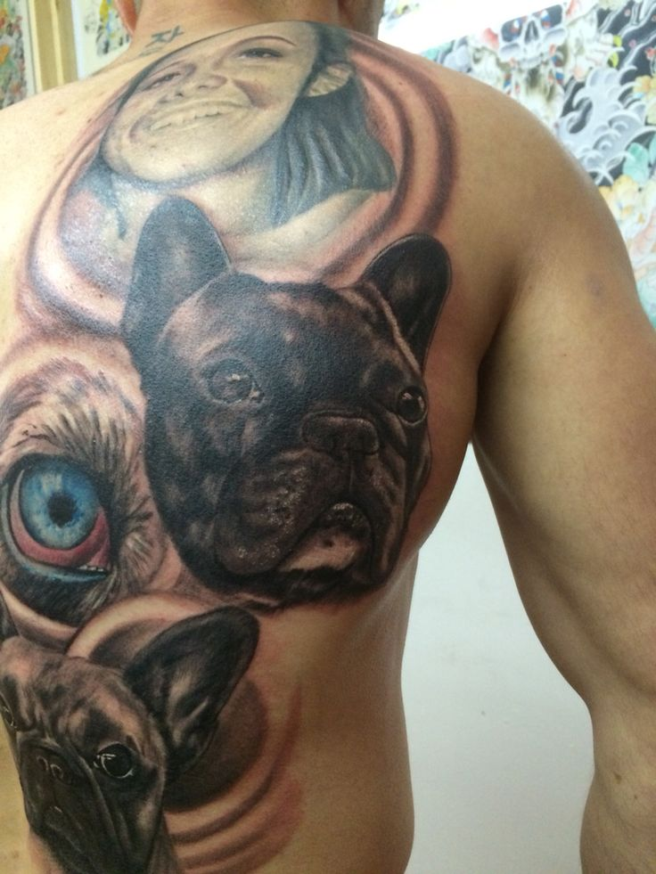 119 best frenchbulldog tatto images on pinterest french bulldog tattoo french bulldogs and. Black Bedroom Furniture Sets. Home Design Ideas