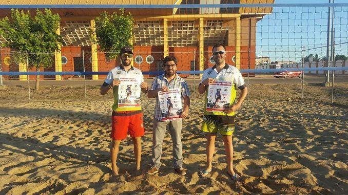 Extremadura voley playa organiza la segunda prueba homologada para el ranking nacional de voley playa de la Real Federación Española de Voleibol.
