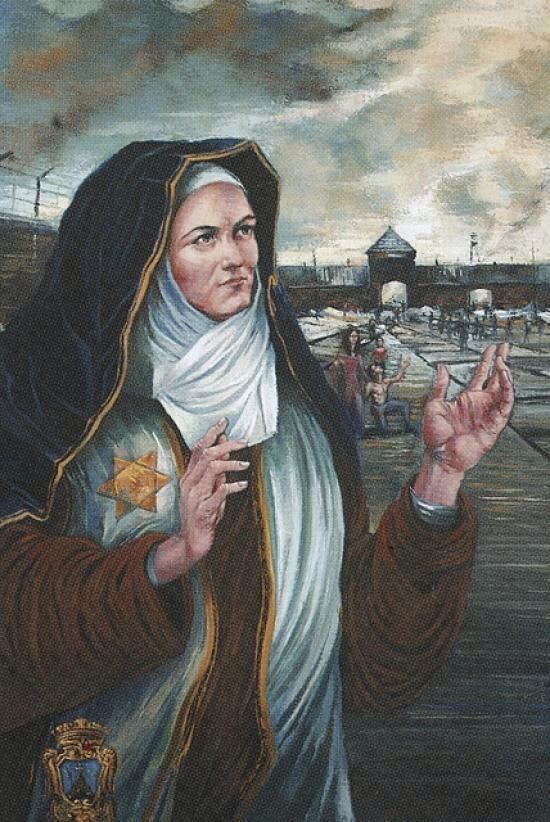 St Teresa Benedicta of the Cross aka Edith Stein