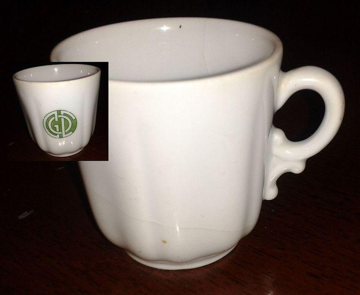 tazzina singola da caffè con fregio...sembra un monogramma