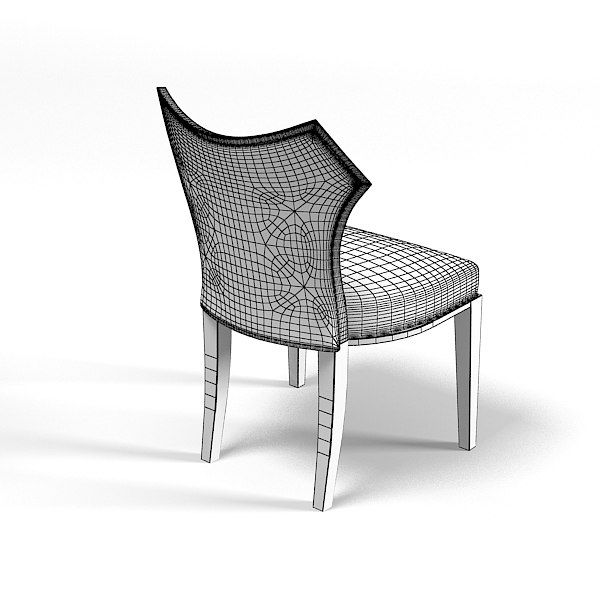 contemporary modern dining chair 3d max