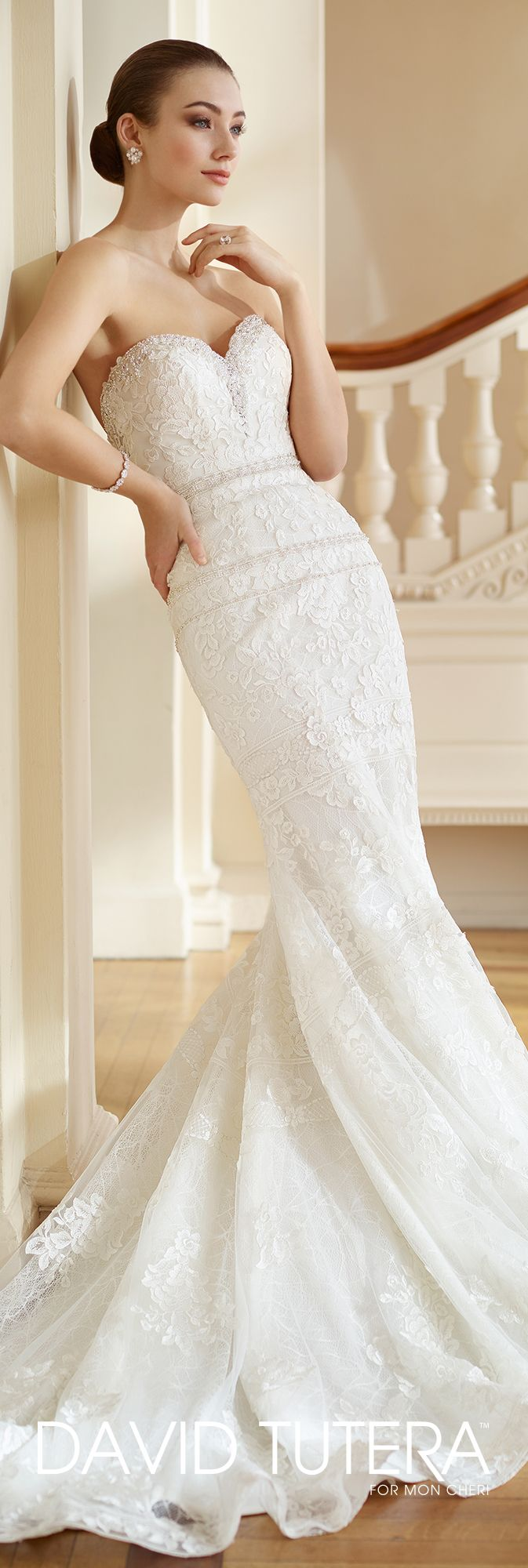 725 best david tutera for mon cheri images on pinterest for No back wedding dress