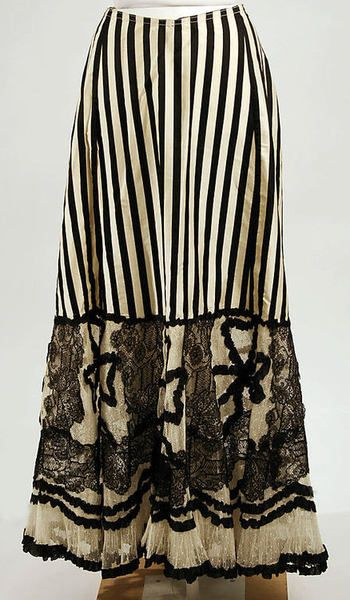 omgthatdress:    Petticoat  1900  The Metropolitan Museum of Art