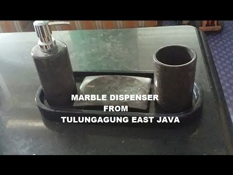 HOW TO MARBLE DISPENSER POLISH..? TATAKAN DISPENSER MARMER