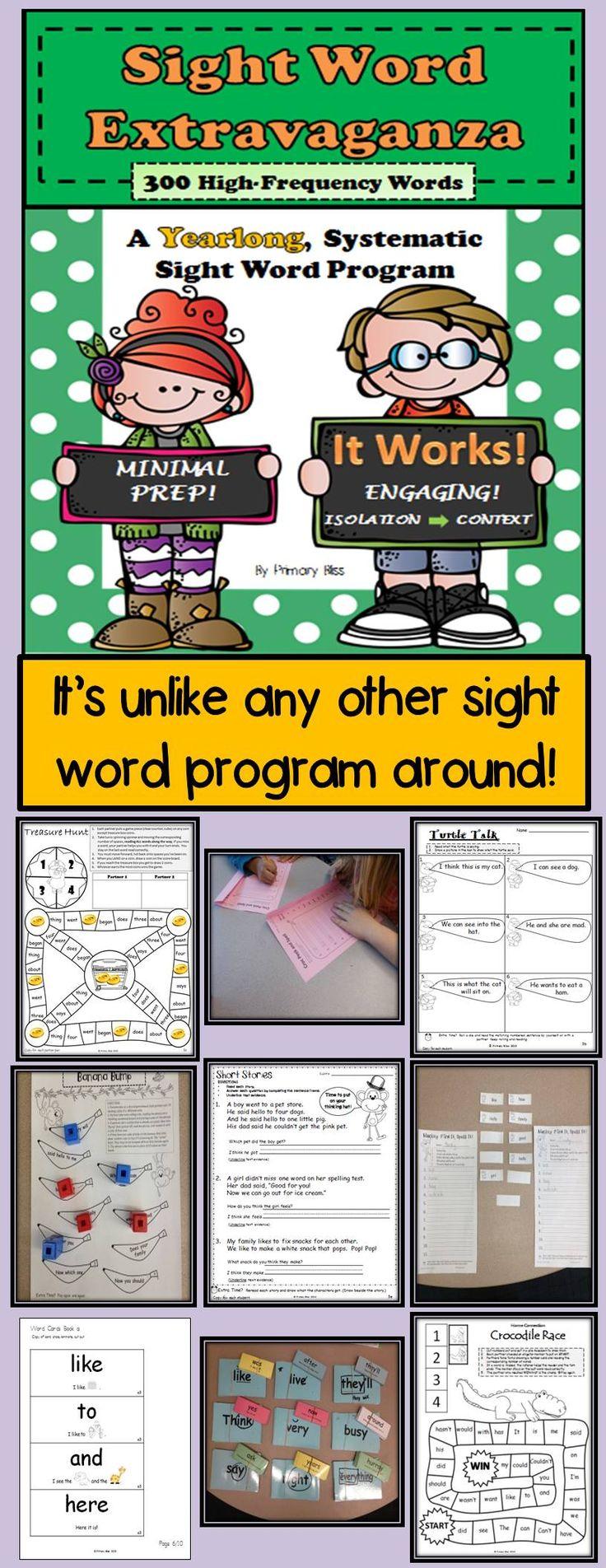Worksheet Sight Word Program 17 best ideas about word program on pinterest kindergarten sight first grade high frequency words outstanding