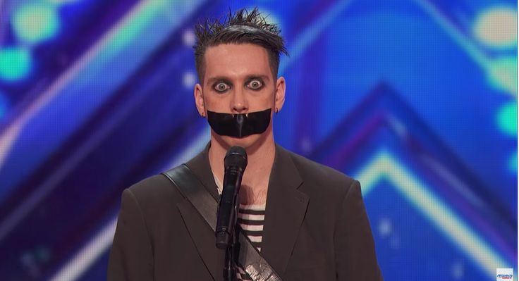 Oddball mime act wins over the audience and judges with strange performance. Check out Tape Face. In season 11, NBC's America's Got Talent follows Simon Cowell, Heidi Klum, Mel B and Howie Mandel in their talent search, showcasing unique performers from across the country. Find America's Got Talent trailers, full episode highlights, previews, promos, clips, and digital exclusives here. ABOUT AMERICA'S GOT TALENT With the talent search open to acts of all ages, America's Got Talent has…