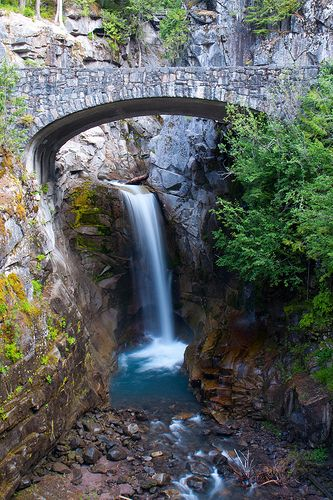 Christine Falls- Mt. Rainier National Park, Washington