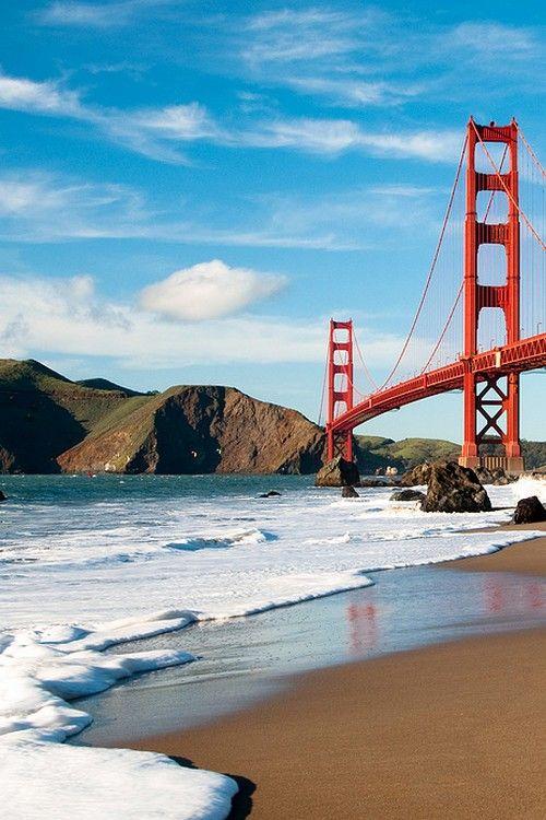 San Francisco : le Golden Gate __ http://www.wee-go.com/sejour-linguistique/san-francisco