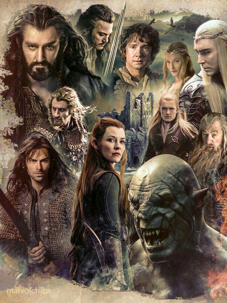 The Hobbit - movie collage