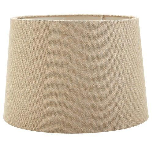Medium Burlap Lamp Shade