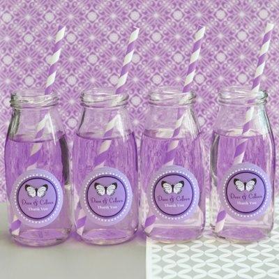 Milk Jars and Straws