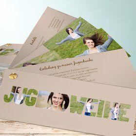 Einladungskarten Jugendweihe - online gestalten